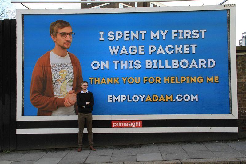 Campaña publicitaria Cartelera Comunicación visual