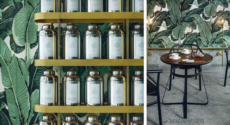 Diseño de interiores Branding Wallpapers
