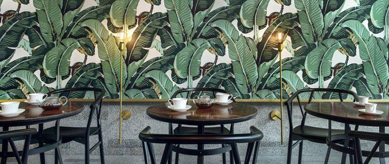 Diseño de interiores Wallpapers Branding