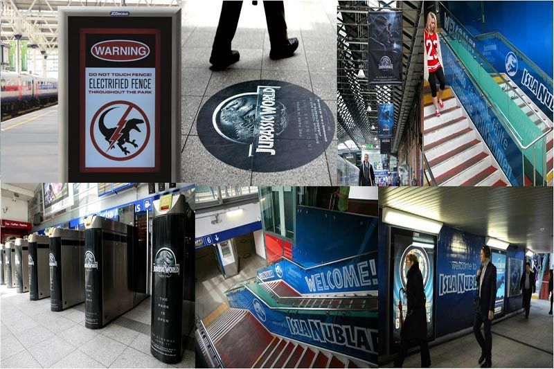 Displays impresos Publicidad Marketing