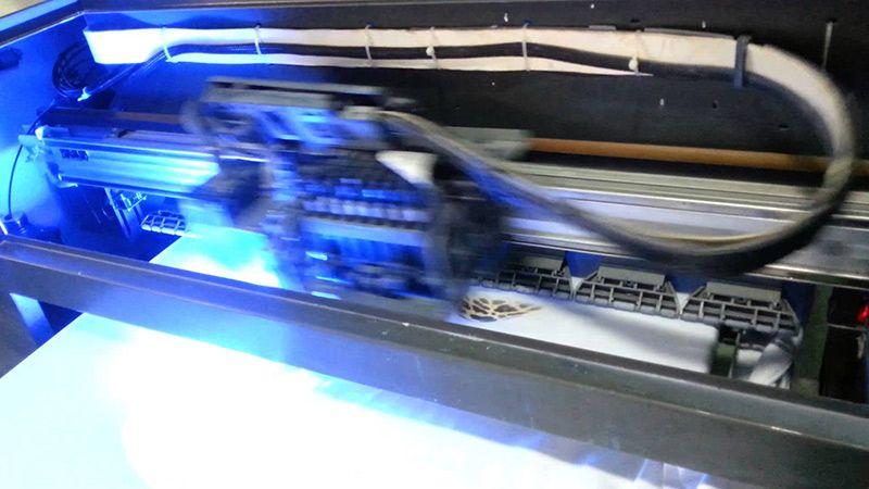 Impresión digital tinta UV Instalación gráfica