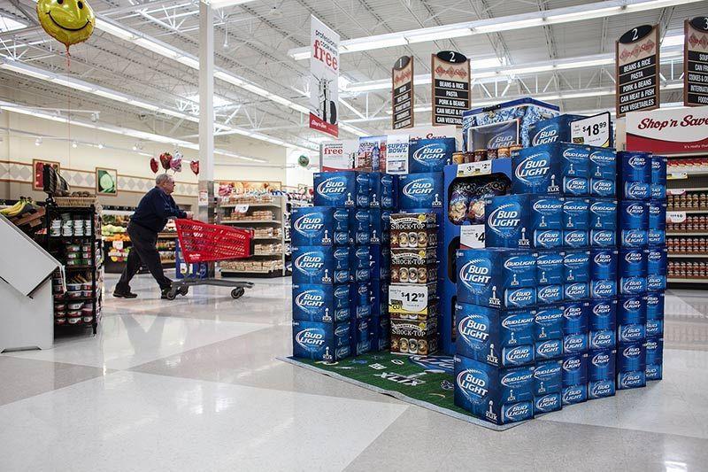 Retail Box palets PLV Cubos de cartón
