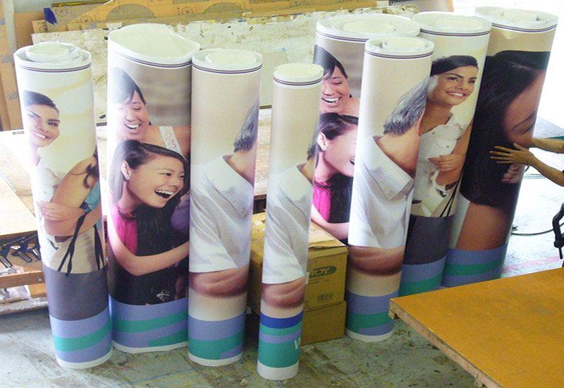 Impresión digital Vinilos adhesivos Retail
