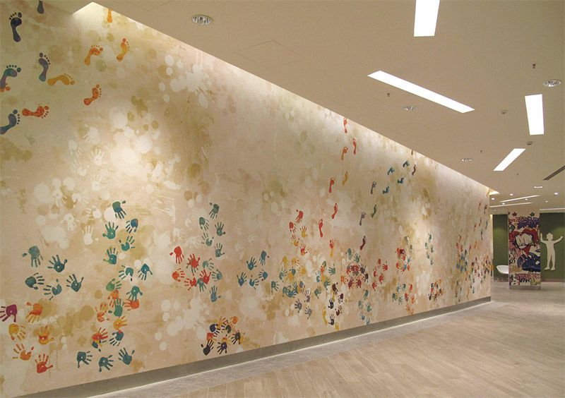 Interiorismo Papeles pintados Impresión digital