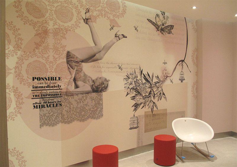 Vinilo impreso Diseño de interiores