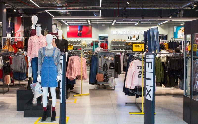 Visual merchandising Decoración interiores Retail