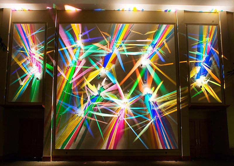 Backlit Diseño interiores Branding Vinilo impreso