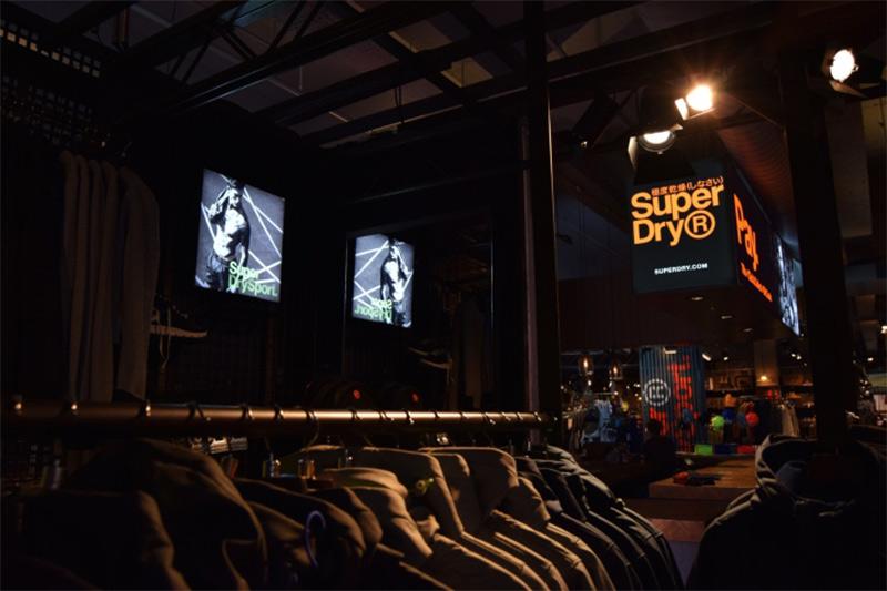Displays Retroiluminados Retail Visual merchandising