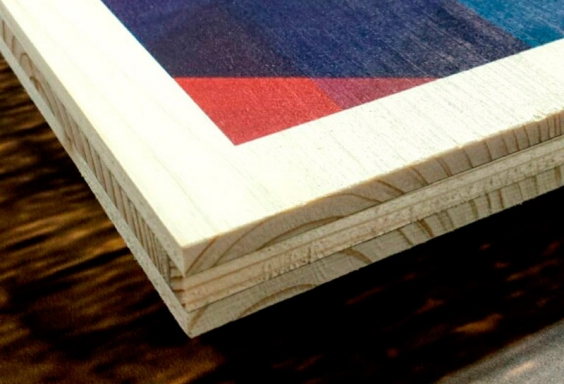 Impresión directa Madera impresa Green print