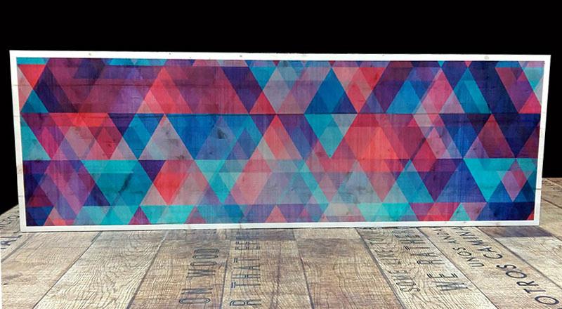 Madera impresa Impresión digital sostenible Green print