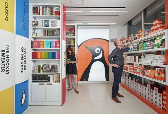 Displays Branding Concept store Retroiluminados
