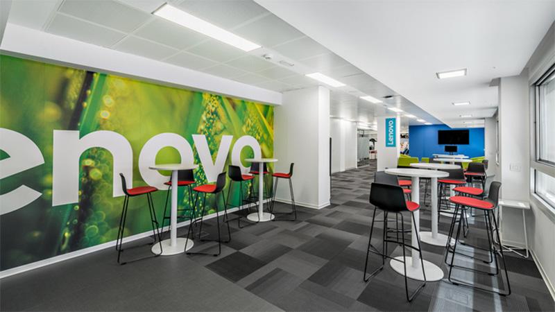 Interiorismo Impresión digital gran formato Branding Wallpapers