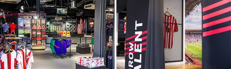 Retail Wallpaper Vinilo impreso Branding
