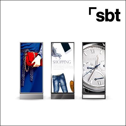 PLV Autoportantes Soft signage Textil impreso