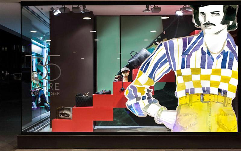 Visual merchandising Impresión digital de gran formato