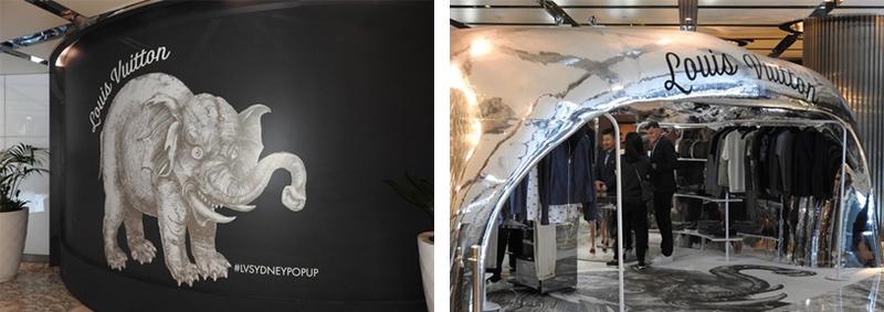 Instalación gráfica Branding Lonas impresas