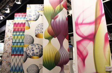 Impresión digital textil Interiorismo Vinilo impreso