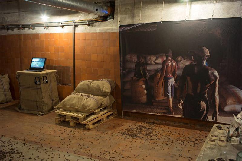 Impresión digital textil Museografía Lonas impresas