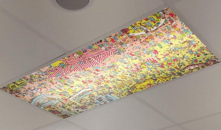 Interiorismo Impresión digital gran formato Carteles Retroiluminados
