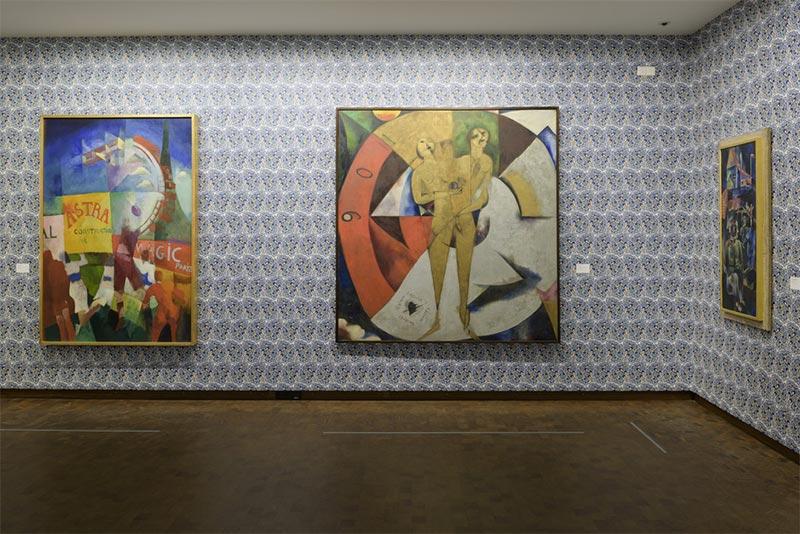 Museografía Wallpapers Textil impreso