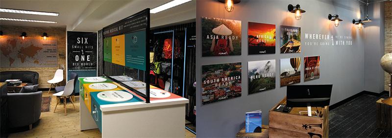 Visual merchandising Branding Fotocuadros