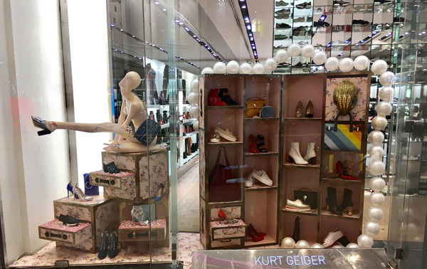 Visual merchandising Displays Adhesivos para suelo