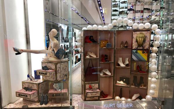 Visual merchandising Displays Adhesivos para suelo