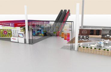 Expositores para punto de venta Cartón impreso Retail