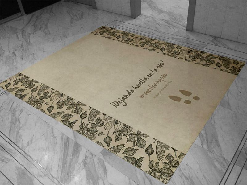Tótems Vinilo impreso Textil impreso