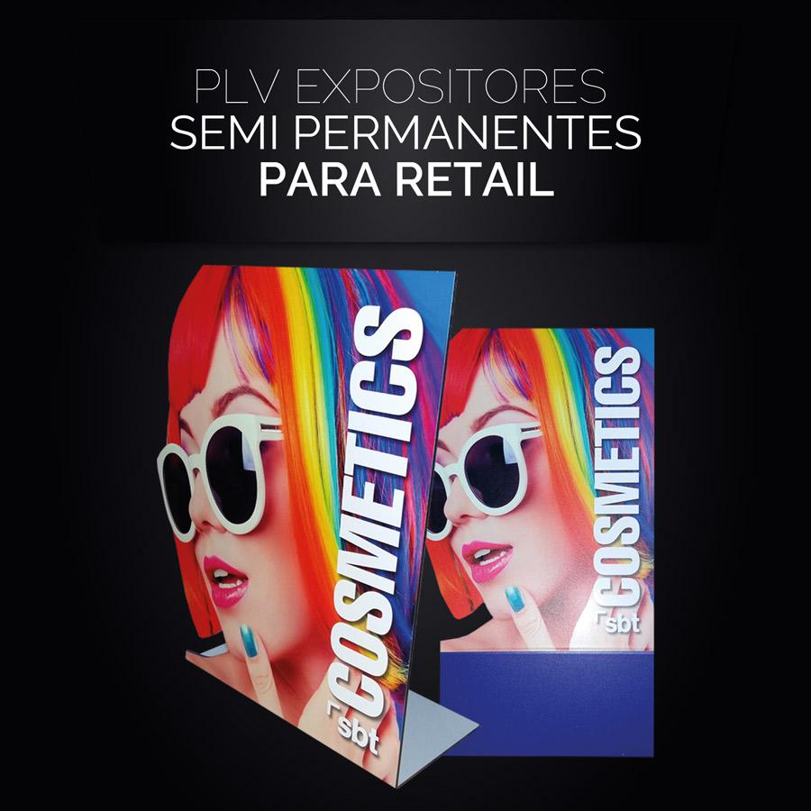 Plv Expositores Semi Permanentes para Retail