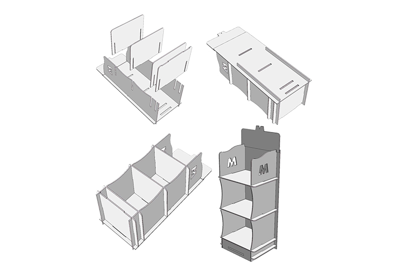 PLV Retail Foam impreso