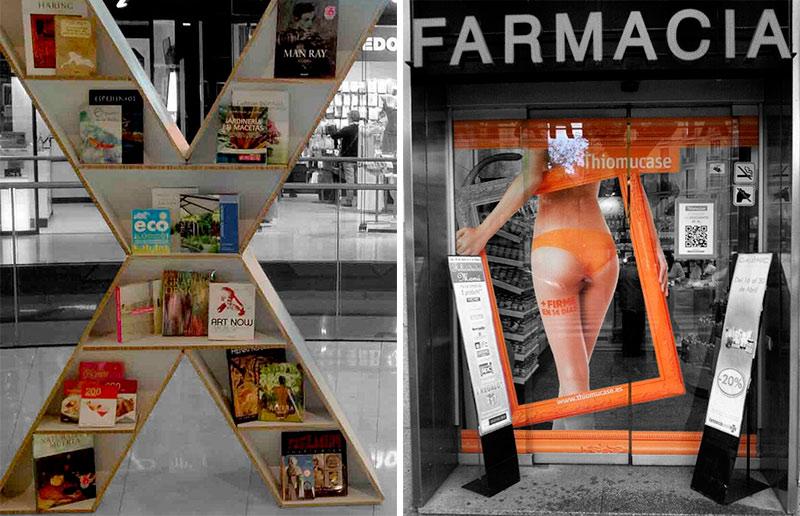 Troquelado digital Displays Publicidad impresa