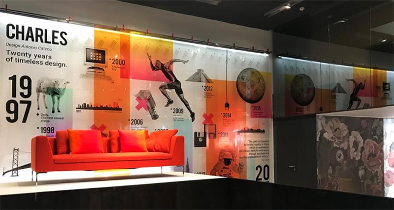 Vinilo impreso Visual merchandising
