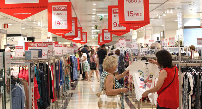 Visual merchandising PLV Lonas impresas
