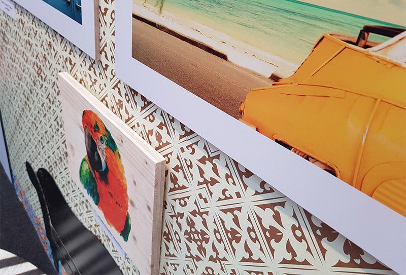 Impresión digital gran formato Fotocuadros