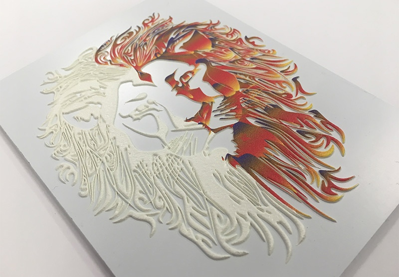 Impresión directa tintas uv Interiorismo