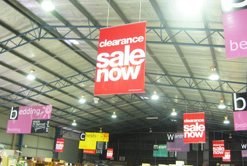 Instalación gráfica Branding Retail
