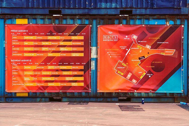 Lonas impresas Rotulación Impresión ecológica