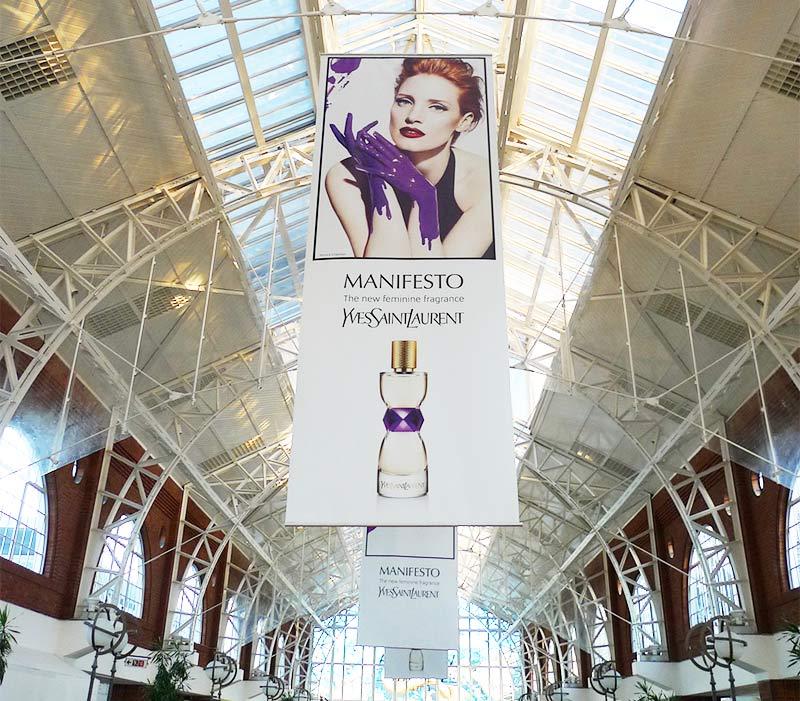Retail Impresión digital textil publicitaria