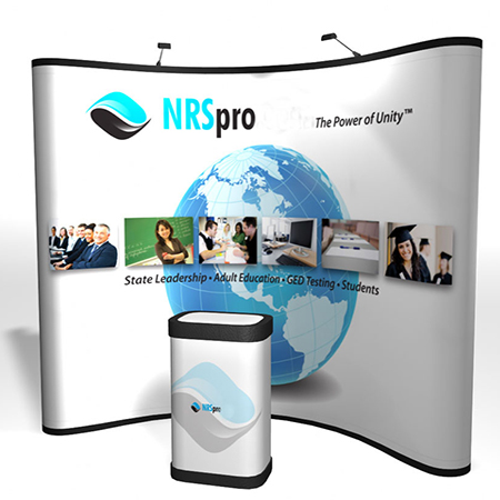 Pop up display impreso