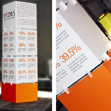 Tótems de cartón impreso PLV