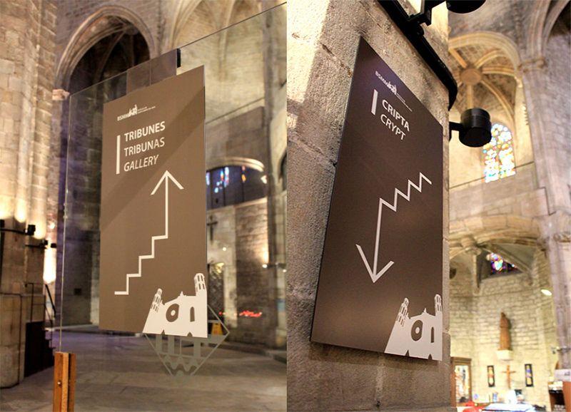Dibond impreso Museografía Señalización