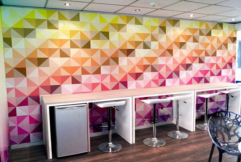 Wallcovering Wallpapers Vinilo impreso