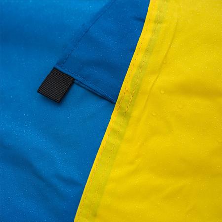 Textil para marcos de aluminio Telas Banderas sintéticas
