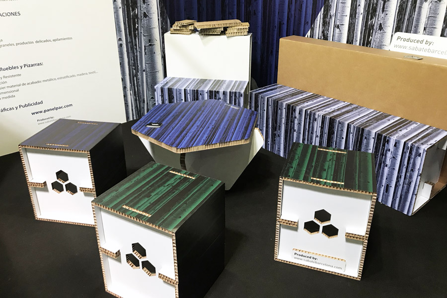 Lonas para marcos aluminio Troquelado cartón
