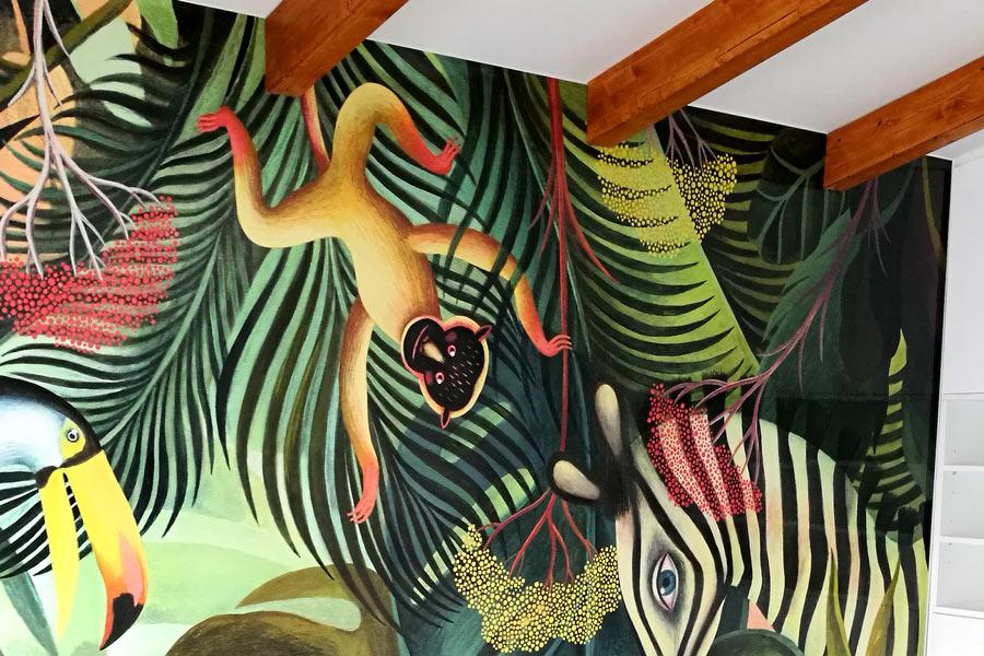 Lonas para marcos de aluminio Wallpaper impreso
