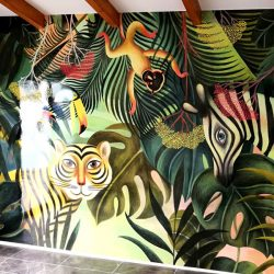 Wallpaper vinilo impreso Vinilos easy dot gran formato