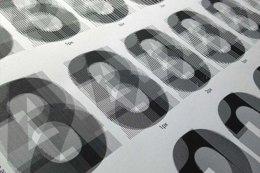 Vinilos easy dot gran formato Lonas para marcos de aluminio