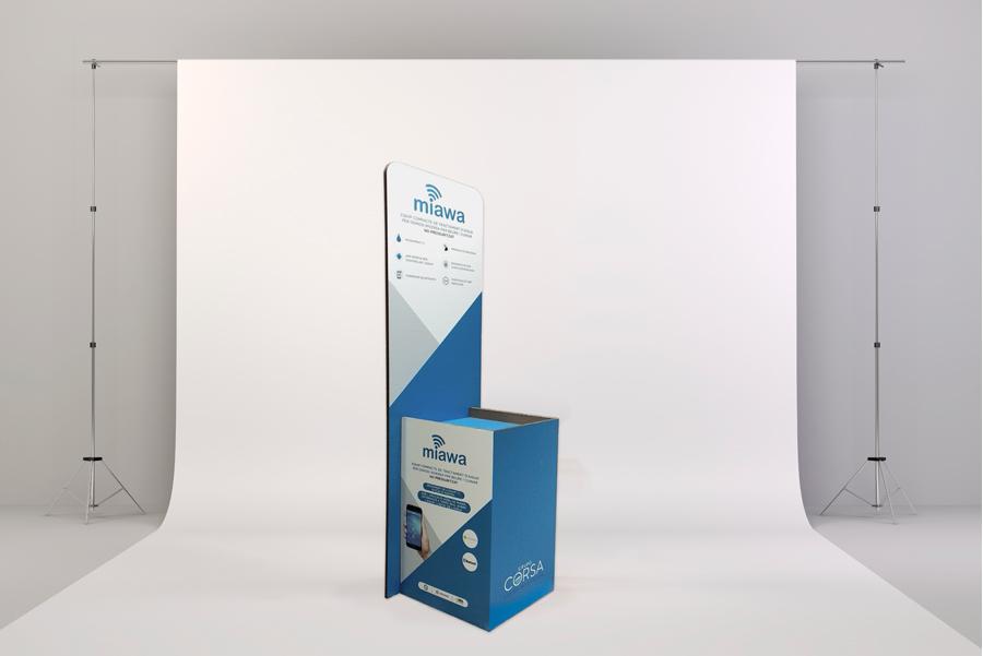 Vinilos easy dot gran formato Lonas para marcos aluminio