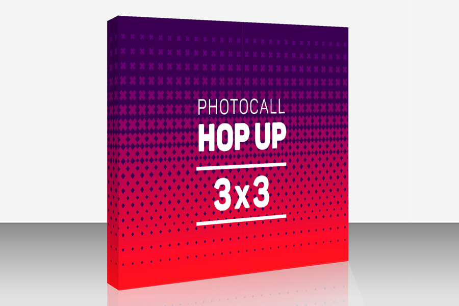 Photocall Hop Up impreso Comprar photocall barato